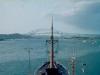 MS Bärenstein in Balbao, Panama-Kanal (Foto von Eckart Bothe)