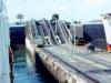 MS Bärenstein in der Schleuse, Panama-Kanal (Foto von Eckart Bothe)