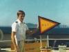 Sydney Express - Bojenpost kurz vor\'m Absetzen unterhalb der südafrikanischen Küste (Nadelkap)
