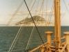 MS Buchenstein passiert Gibraltar