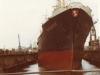 MS Burgenstein im Dock der AG Weser/Bremen