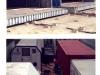 Stallrohbauten aus Containern für Pferde und Elefanten und Wohncontainer