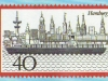 CTS Hamburg Express Briefmarke