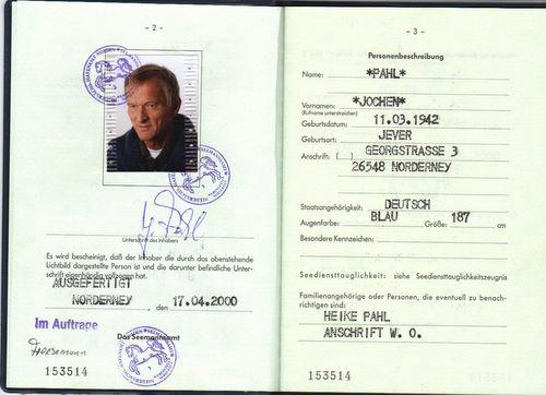 Kapitän Jochen Pahl
